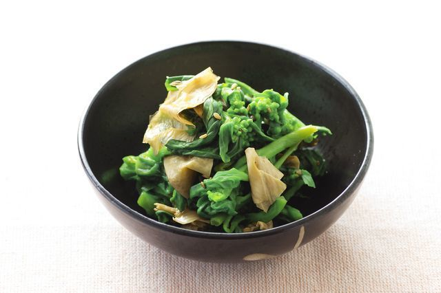 Yuba_With_Spinach_in_a_bowl