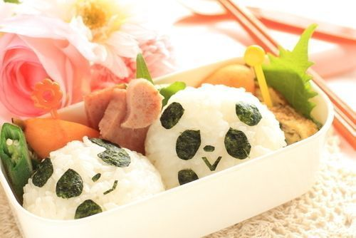 Homemade_Panda_bento_box