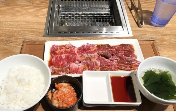 One_person_Yakiniku_lunch_set