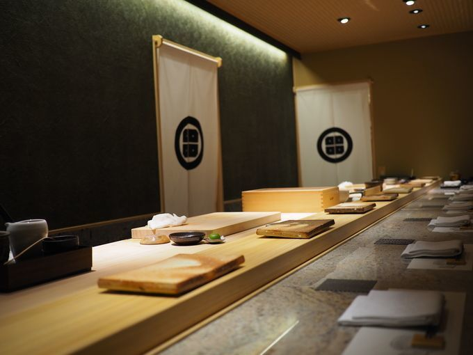 Sushi_tei_den_counter